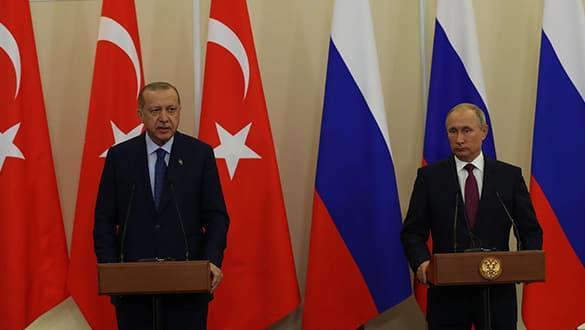 Başkan Erdoğan ve Putin telefonda görüştü