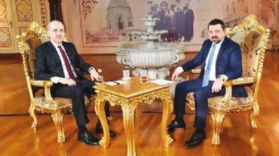 Numan Kurtulmuş, Melik Yiğitel'e konuştu: FETÖ'yle söylem birliğiyapanlar siyasi ayaktır