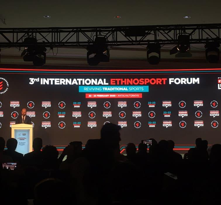 3. Uluslararası Etnospor Forumu Antalya'da başladı