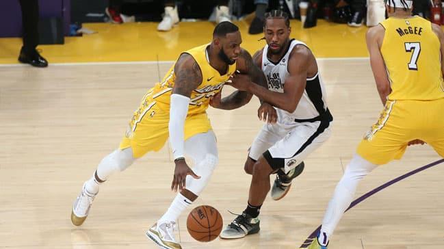 LA Lakers - LA Clippers derbisinin tarihi belli oldu