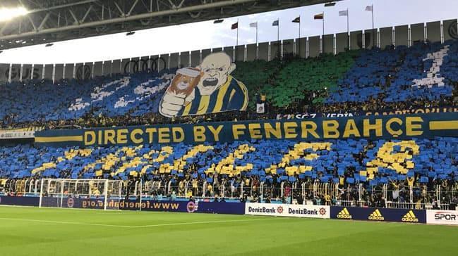 Fenerbahçe taraftarı derbide şova hazırlanıyor