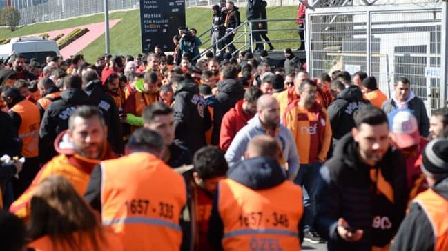 Fenerbahçe-Galatasaray derbisi öncesinde olay çıktı