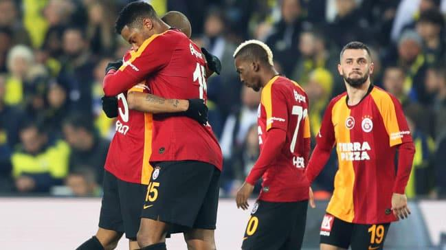 Galatasaray, Fenerbahçe'yi deplasmanda mağlup etti