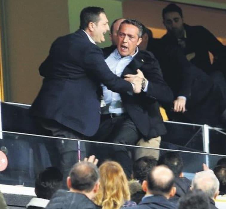 Flaş iddia! Ali Koç Fenerbahçe taraftarını tokatladı