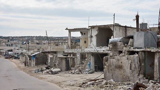 İHA ekibi M4 karayolunu görüntüledi: Rejim ve Rus güçlerinin İdlib'e yönelik saldırıları sürüyor