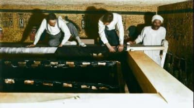 Tutankamon'un mezarındaki gizli odadan servet çıktı