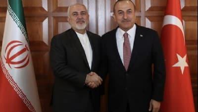 Bakan Çavuşoğlu İranlı mevkidaşı Zarif ile görüştü