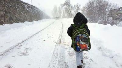 Van'da 25 okulda eğitime 15 gün ara verildi