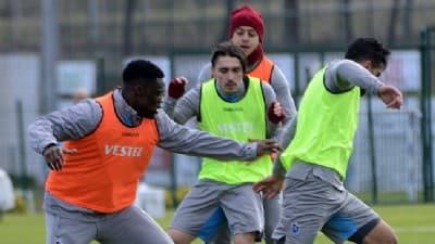 Trabzonspor'da Çaykur Rizespor maçının hazırlıkları başladı