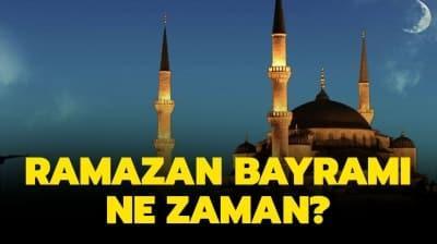 Ramazan Bayramı 2020 ne zaman, hangi tarihte? Ramazan Bayramı tatili kaç gün olacak?