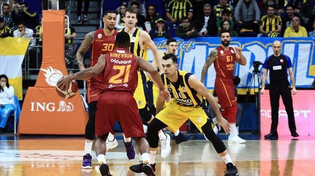 Galatasaray Doğa Sigorta derbide Fenerbahçe Beko'yu devirdi