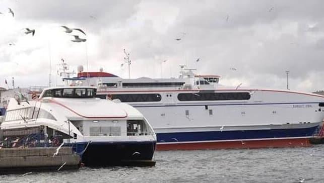 Deniz ulaşımında aksama! Seferler iptal edildi
