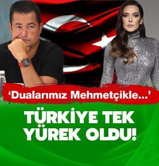 Türkiye tek yürek oldu: Dualarımız Mehmetçiklerimizle...