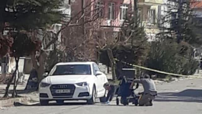 İş adamının otomobilinde bomba bulundu!
