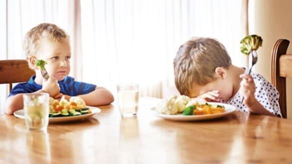 Çocuğu yemek için zorlamayın!