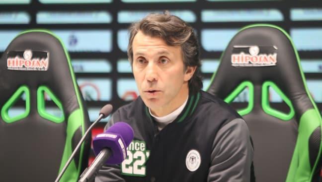 Konyaspor'a Bülent Korkmaz da çare olamadı
