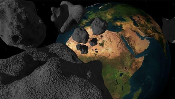 NASA'dan tüyler ürperten açıklama! 4 kilometre çapında!