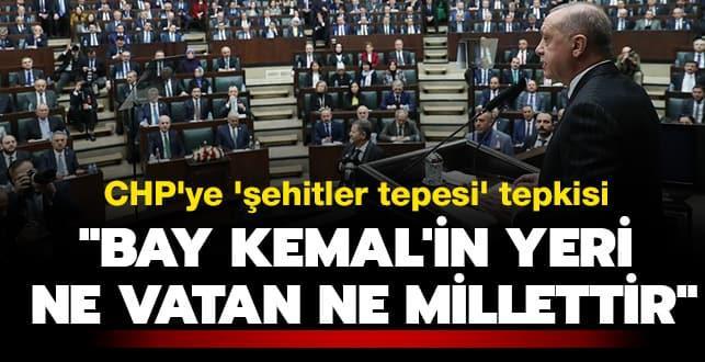 Başkan Erdoğan'dan çok sert açıklamalar... 'Bay Kemal'in yeri ne vatan ne millettir'