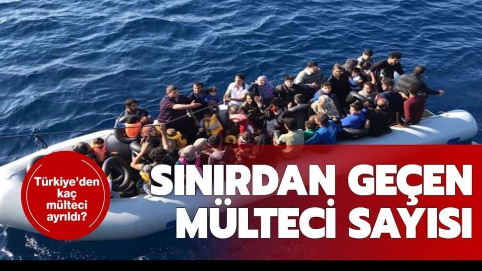 """6 Mart sınırı geçen mülteci sayısı kaç"""" Türkiye'den ayrılan mülteci sayısı kaç oldu"""""""