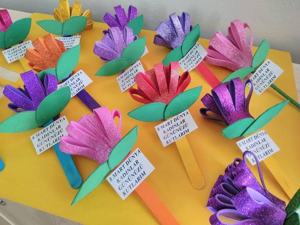 8 Mart Dunya Kadinlar Gunu Okul Oncesi Etkinlikleri Haberimizde