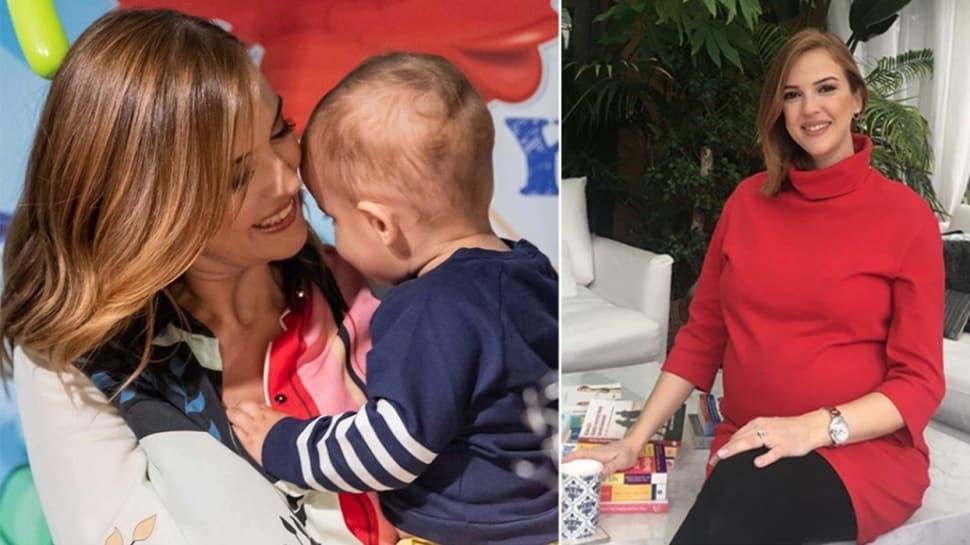 Simge Fıstıkoğlu ikinci kez anne oldu, ile ilgili görsel sonucu