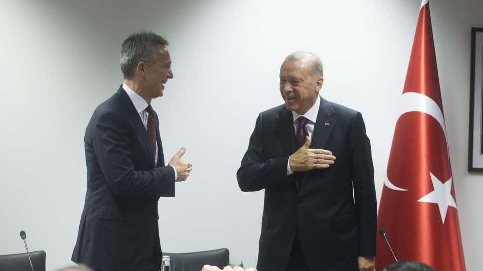 Başkan Erdoğan, Stoltenberg'in elini 'korona' diyerek sıkmadı