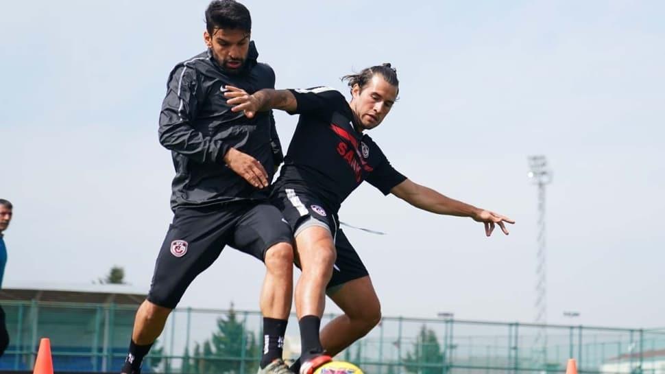 Gaziantep FK, Aytemiz Alanyaspor maçına hazırlanıyor