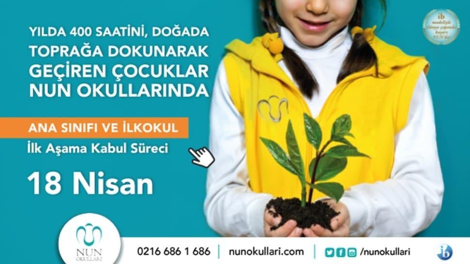 NUN Okulları Kabul Süreci 18 Nisan'da!