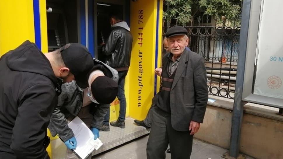 Uyarılara aldırmayan 77 yaşındaki dede pes dedirtti: Yakışıklı çekin