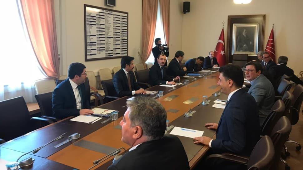 AK Parti ile CHP arasındaki infaz düzenlemesi görüşmeleri başladı
