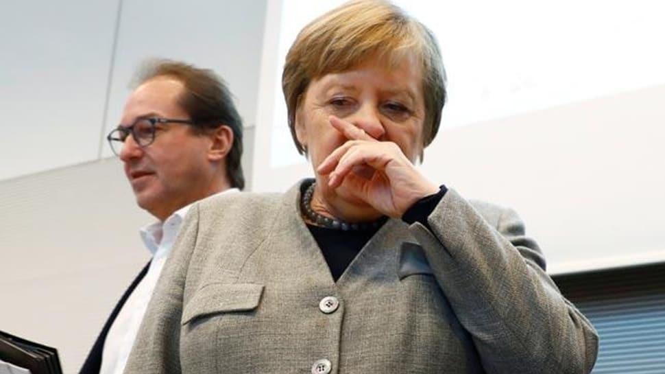 Merkel'in corona virüs testi pozitif çıkarsa 'B planı' devreye girecek