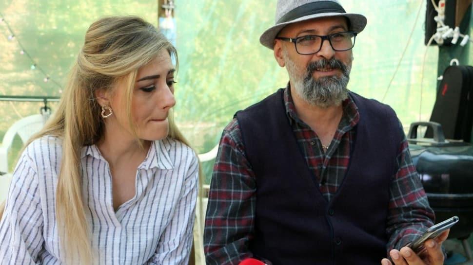 İranlı çift, koronavirüsü yüzünden ayrı kaldıkları kızları Soruşu'ya kavuştu