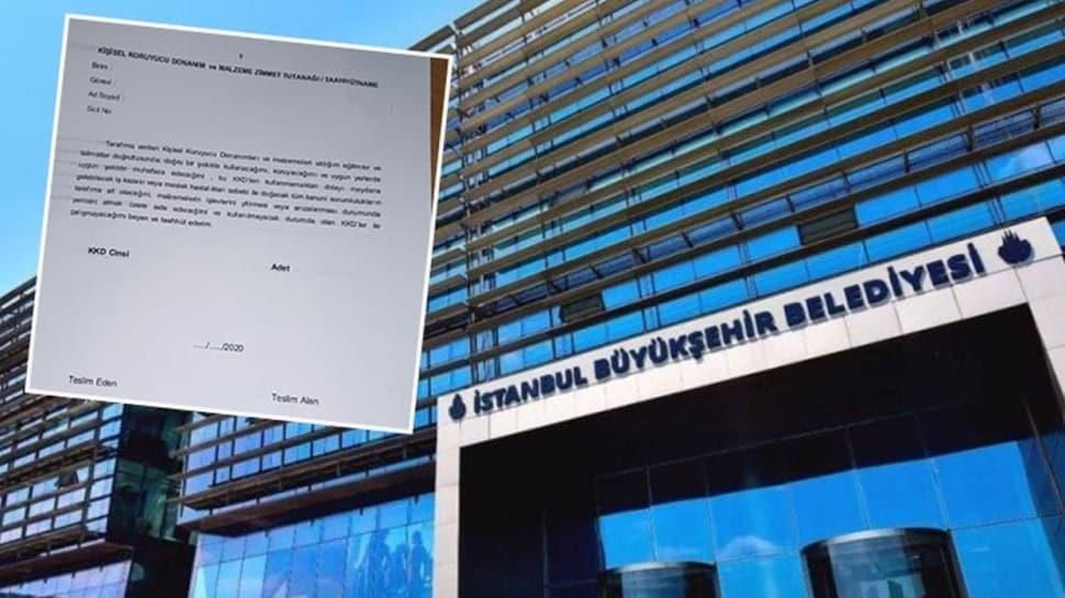Çalışanlar isyan etti... İBB'nin 'sorumlusu benim' diye kağıt imzalattığı ortaya çıktı