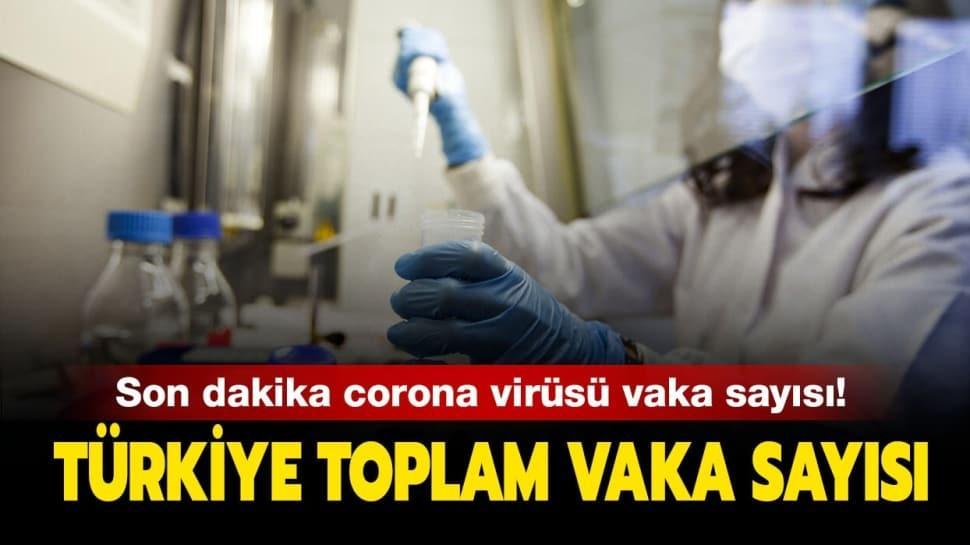 Türkiye koronavirüs vaka sayısı kaç oldu? Sağlık Bakanı Koca açıkladı! Sağlık Bakanlığı koronavirüs tablosu haberimizde...