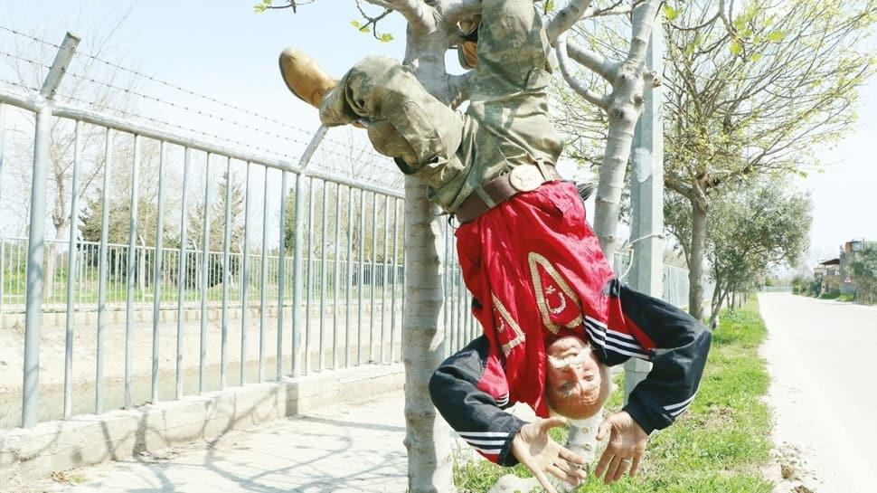 'Ağaçta asılıp sallanmak hobim'