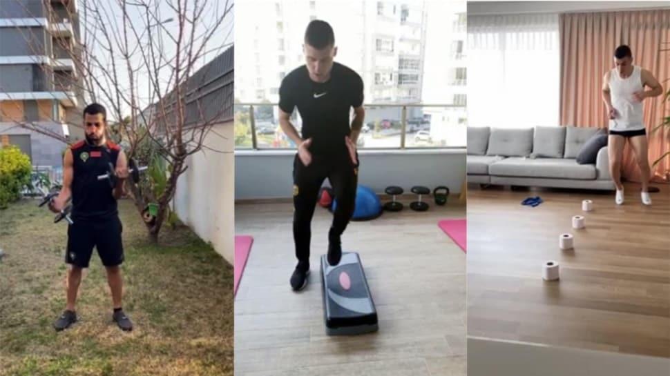 Yeni Malatyaspor evden çalışmaya devam ediyor