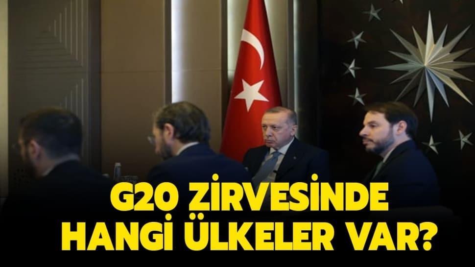 """G20 zirvesi nedir"""" G20 zirvesinde hangi ülkeler var"""" İşte detaylar..."""
