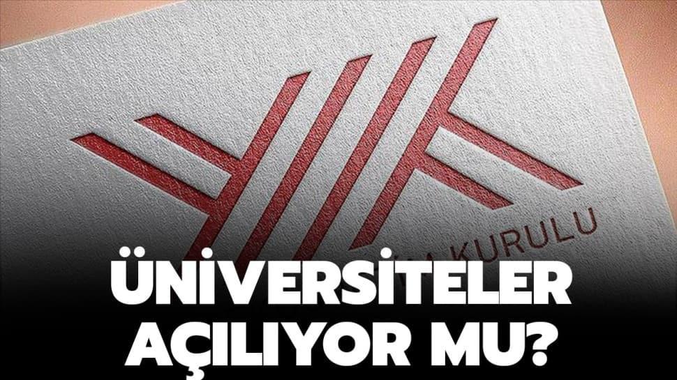 Online eğitim nasıl olacak? Üniversiteler'in koronavirüs tatili uzatıldı! YÖK Başkanı Saraç duyurdu!