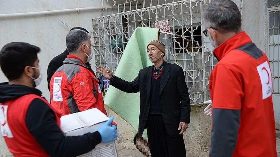 Türk Kızılay'dan 'koronavirüs' salgınıyla mücadeleye destek