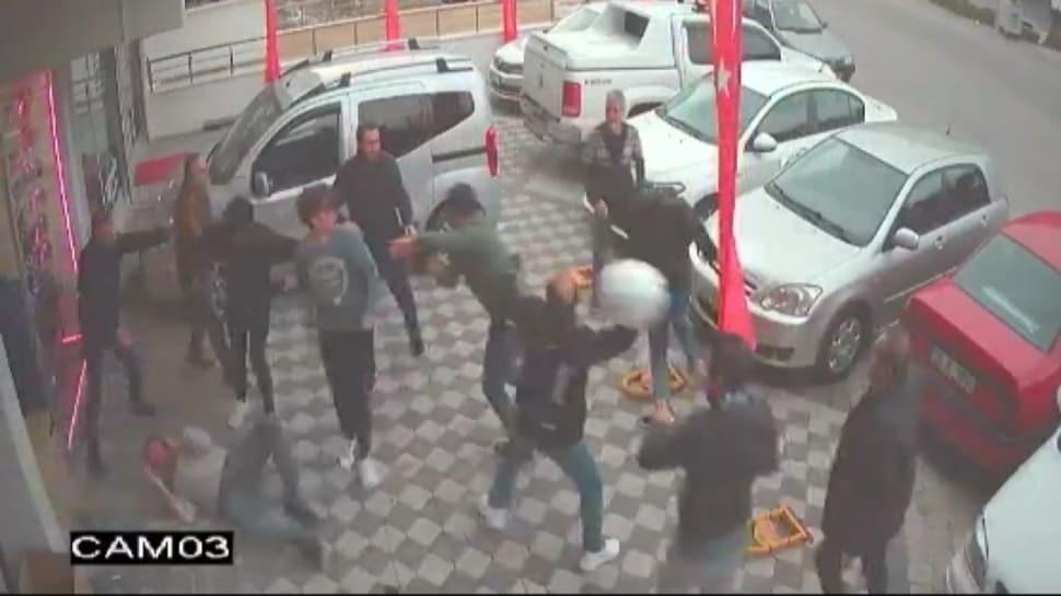Film gibi olay: Önce saatlerce dükkanı izlediler sonra 12 kişiyle baskın yaptılar