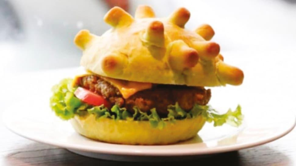 'Koronaburger' satışta!