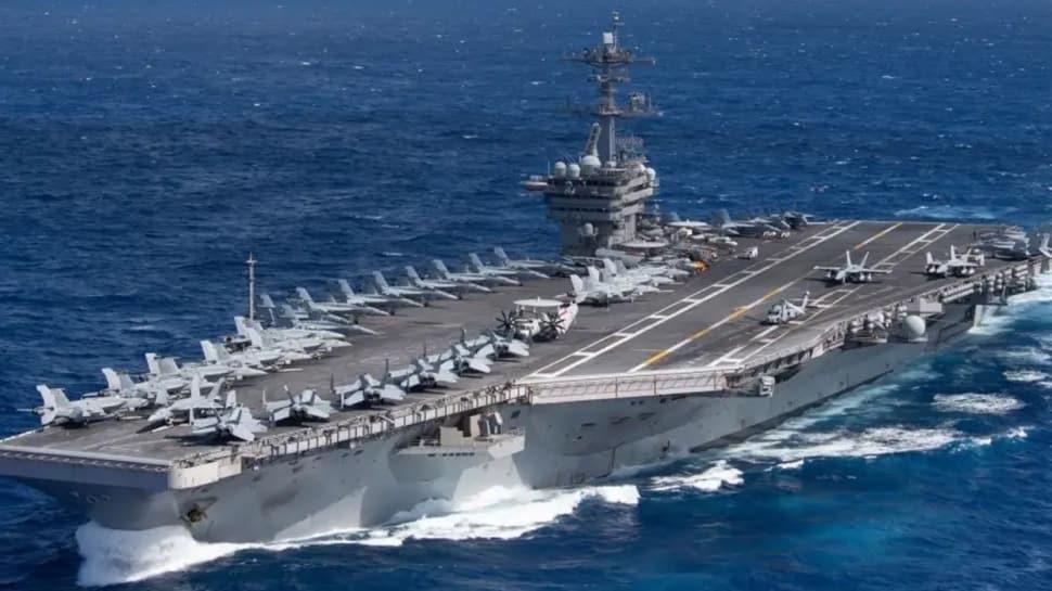 ABD uçak gemisi, Guam Adası'nda karantinaya alındı
