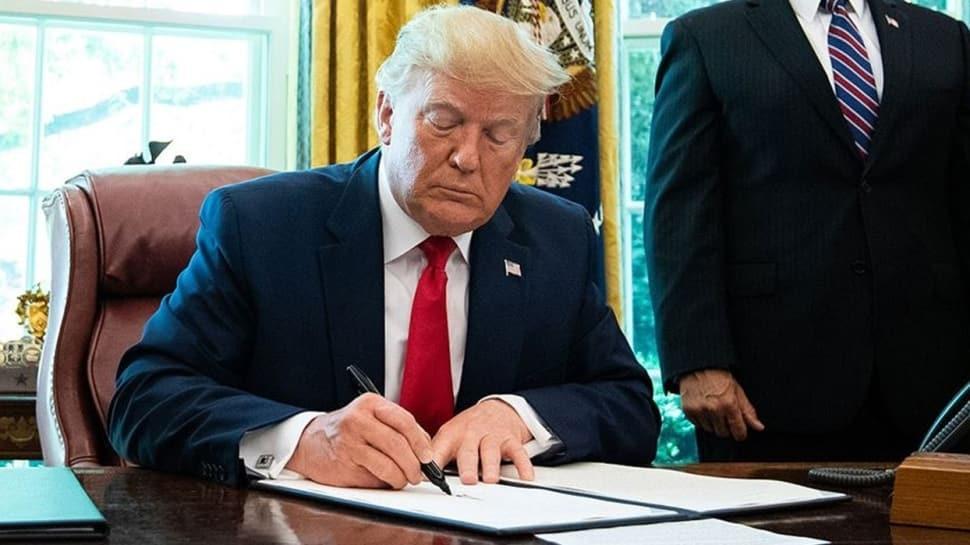 ABD Başkanı Donald Trump, 2,2 trilyon dolarlık teşvik paketini imzaladı