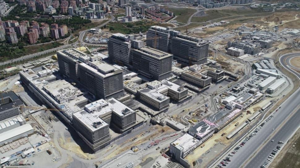 İkitelli Şehir Hastanesi yollarının yapımına başlandı