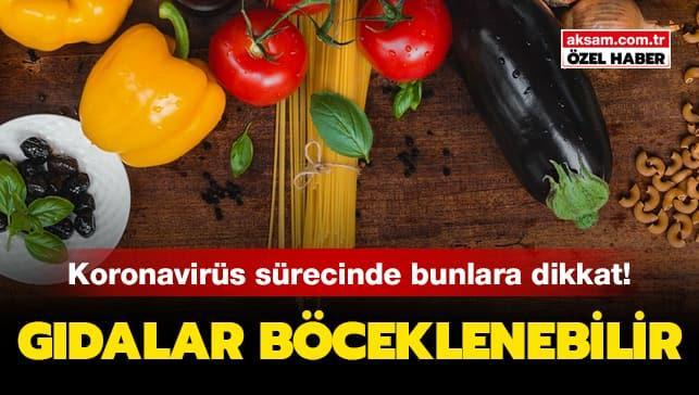 Koronavirüse karşı stok yapmaya dikkat! Gıdalar böceklenebilir!
