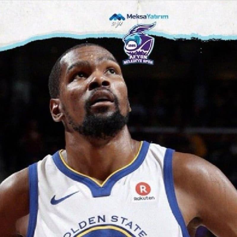 Afyon Belediyespor, Kevin Durant'i transfer etti!!!