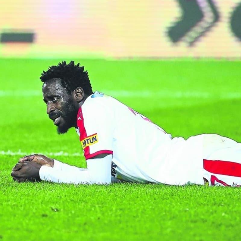 Andre Poko bu sezon yaşadığı sakatlıklar sebebiyle formayı unuttu