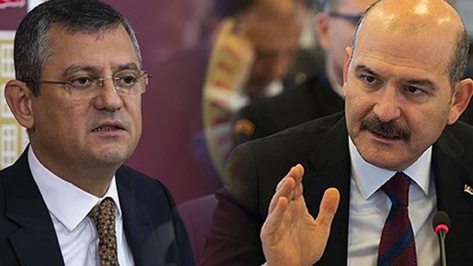 Bakan Soylu'dan CHP'li Özgür Özel'e tokat gibi cevap: Örgüt yalakaları!