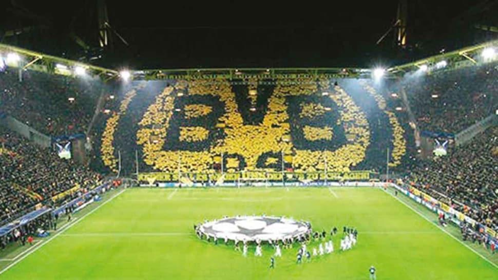 Borussia Dortmund'un evi geçici hastane oldu