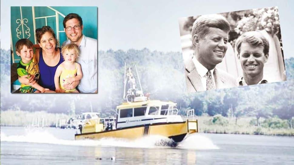 Torun ve oğlu denizde kayboldu